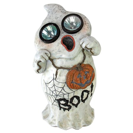 Design Toscano Ghostly Visions Solar Garden Ghost - Halloween Statues