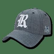 NCAA  Rice Owls University 6 Panel Cotton Structured Denim Baseball Caps Hats