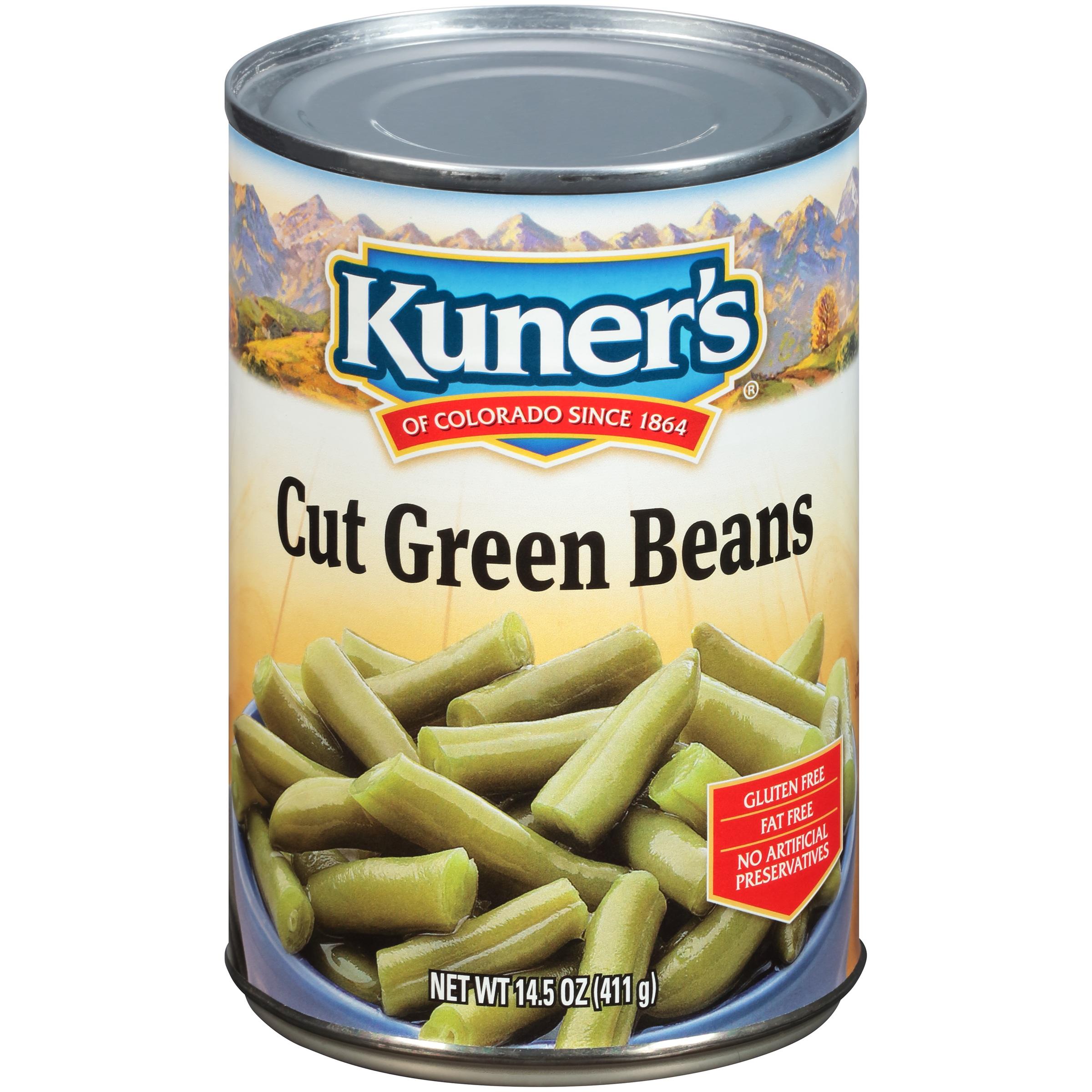 Kuner's® Cut Green Beans 14.5 oz. Can