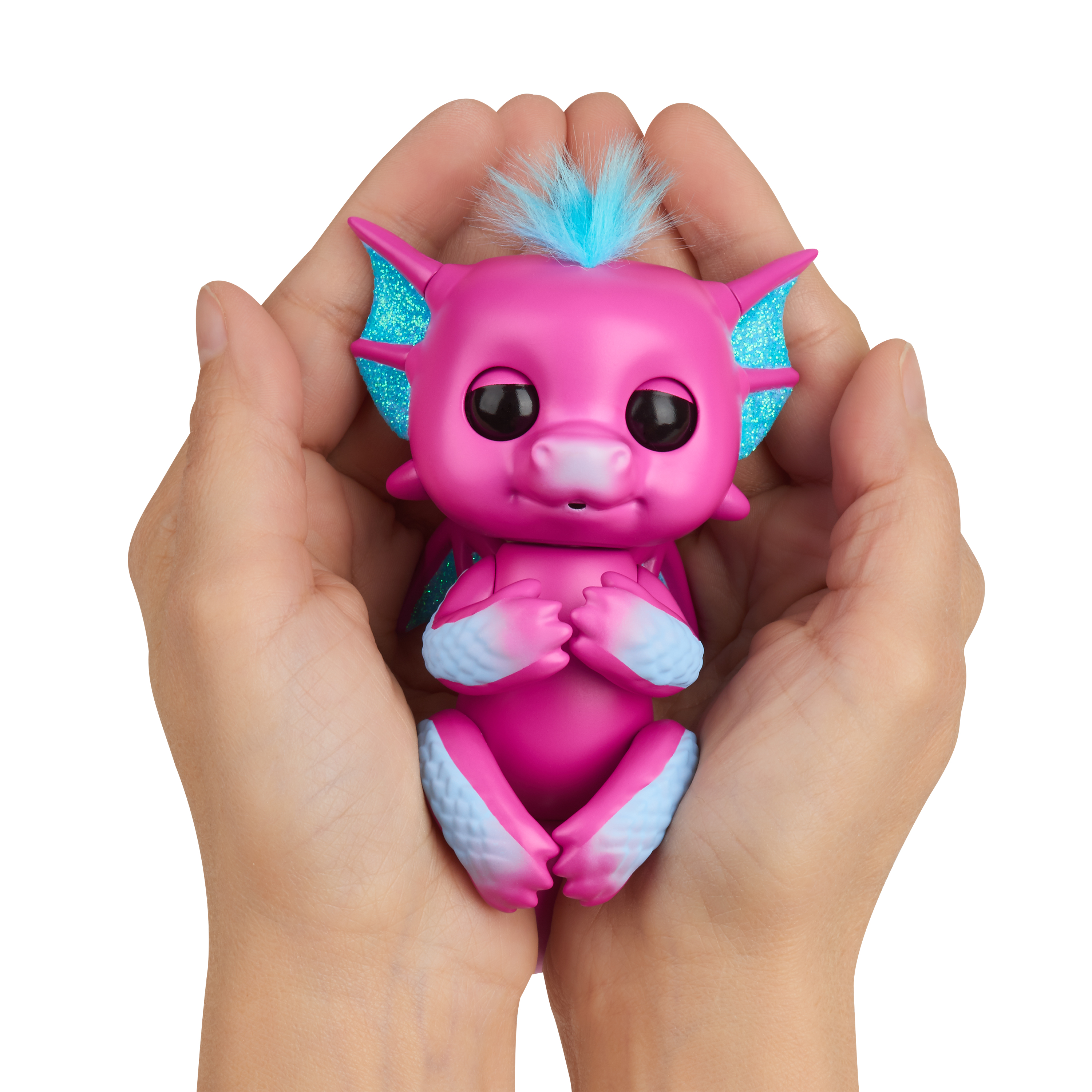 Fingerling Dragon Sandy Pink Interactive Figure Toy Wowwee Electronic & Interactive