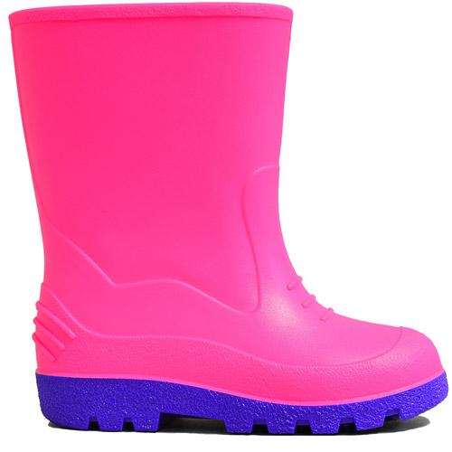 Toddler Girl's Splash Solid Rain Boot