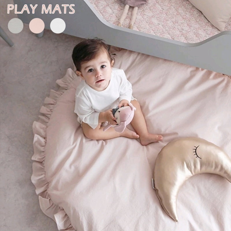 Game Willcome Cotton Baby Rug Foldable Game Play Crawling Mat Carpet 67x28 Inch Perfect Blanket for Kids Bedroom
