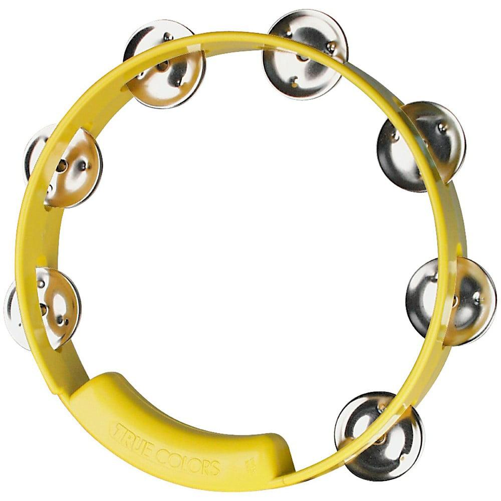 "Rhythm Tech TC4058 True Colors 8"" Tambourine Yellow by Rhythm Tech"