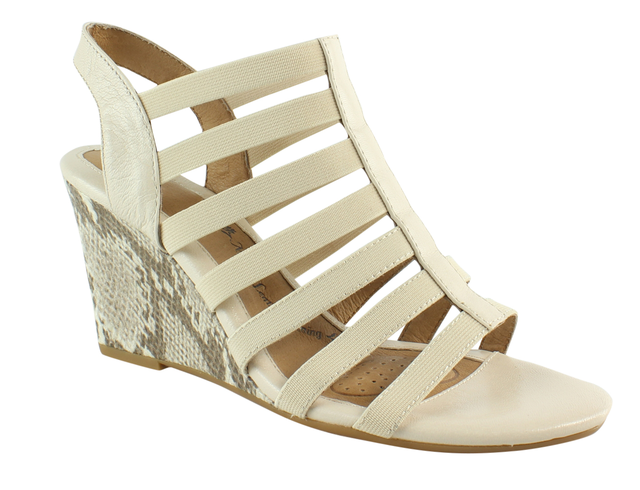 New Sofft Womens Beige Sandals Size 7.5 by Sofft