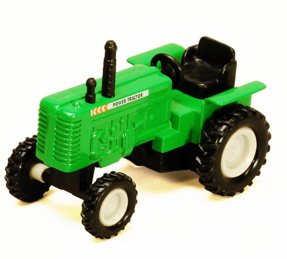 Power Farm Tractor, Green Showcasts 2169D 4 Inch Scale Diecast Model Replica (Brand but... by Showcasts