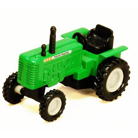 Power Farm Tractor, Green - Showcasts 2169D - 4 Inch Scale Diecast Model Replica (Brand New, but NOT IN -