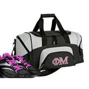 Small Phi Mu Duffel Bag or Phi Mu Gym Bag