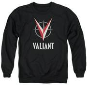 Valiant - Logo - Crewneck Sweatshirt - Small