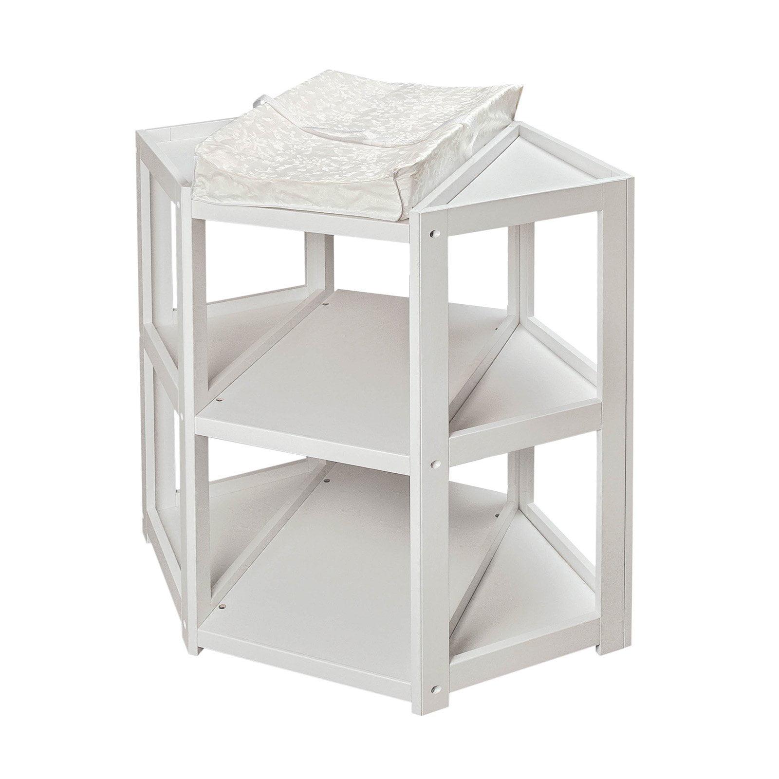 Badger Basket Diaper Corner Changing Table White by Badger Basket