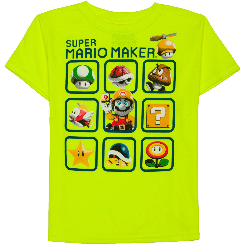 Nintendo Boy's Maker 3x3 Graphic Tee