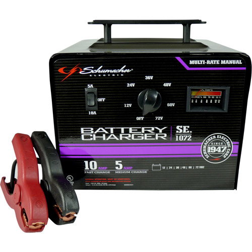 Schumacher 5/10A Multiple Battery Charger