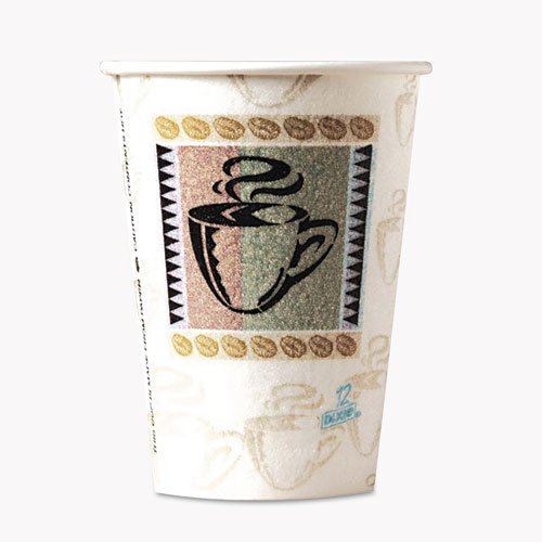 Dixie Perfectouch Insulated Hot Cups - 12 Oz - 50/pack - Paper - Assorted (5342cdpk)