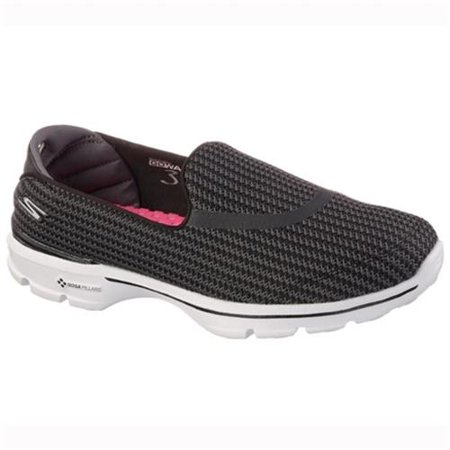 Skechers Women's Go Walk 3 Slip-On Walking Shoe (Skechers Go Golf Pro 2 Lx Golf Shoes)