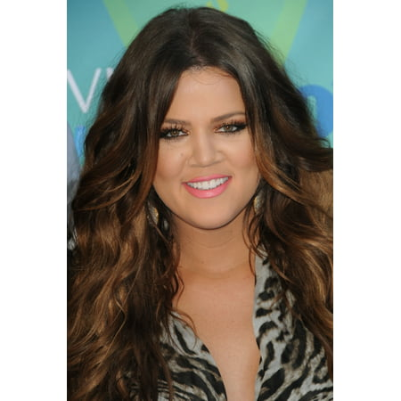 Khloe Kardashian At Arrivals For 2011 Teen Choice Awards   Arrivals Gibson Amphitheatre Los Angeles Ca August 7 2011 Photo By Dee Cerconeeverett Collection Photo Print