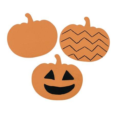 Pre-k Halloween Arts And Crafts (Colorations Scratch Art Design Pumpkins, Set of 36, Classroom Pack, Teacher, Party Favor, Name Tag, Halloween, Fall, Thanksgiving, Arts and Crafts (Item #)