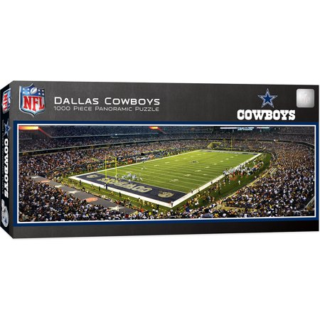 Nfl Dallas Cowboys Texas Stadium (Dallas Cowboys 1000 Piece Stadium Panoramic Jigsaw Puzzle)