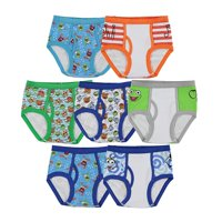 Muppet Babies Boys 7-Pack Underwear Briefs Toddler Little Kid Infant Baby Piggy Kermit Animal Gonzo