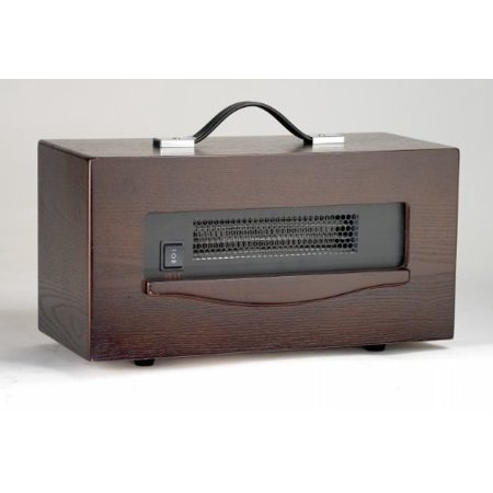 Dynamic 1,500 Watt Portable Electric Infrared Cabinet Heater