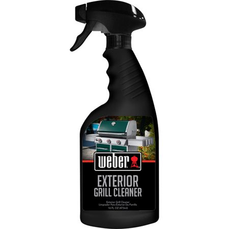 Weber exterior grill cleaner 16 oz best kitchen cleaners Weber exterior grill cleaner