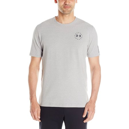 Under armour men 39 s wwp freedom flag tactical graphic t for Under armour shirts at walmart