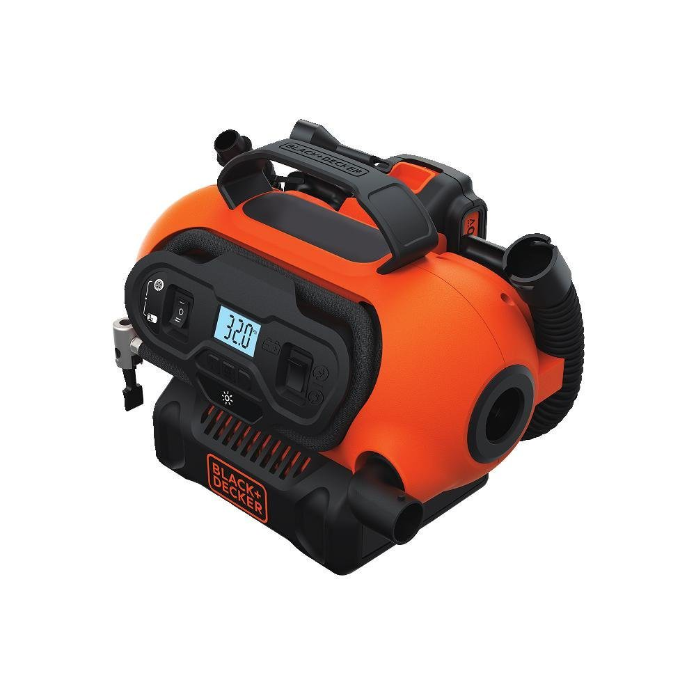 BLACK+DECKER BDINF20C 20V MAX* Lithium Cordless Multi-Purpose Inflator (Tool Only)