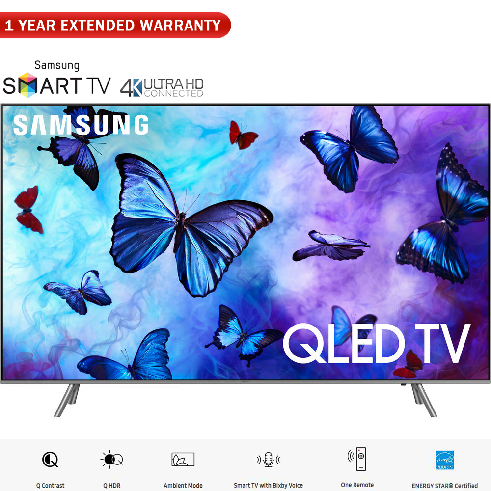 "Samsung QN55Q6FN 55""-Class QLED Smart 4K UHD TV (2018 Model) � (Certified Refurbished)"