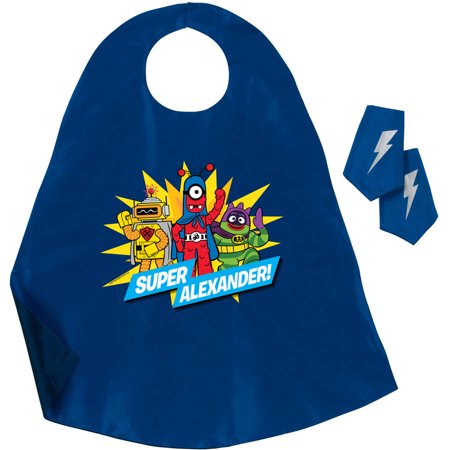 Personalized Yo Gabba Gabba Hero Cape and Cuff Set, - Yo Gabba Gabba Invitations