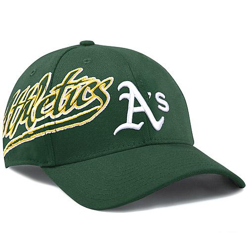 Oakland Athletics New Era Flashmark 39THIRTY Flex Hat - Green