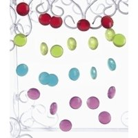 Roman 6' Unlit Multi Color Dot Artificial Christmas Garland