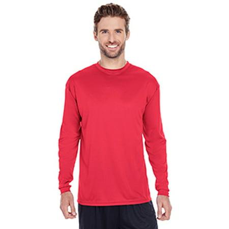 C2 Sport Men's 100% Poly Performance Long-Sleeve T-Shirt (Best Quality Polo Shirts)