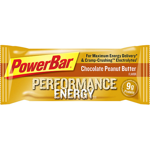 PowerBar Performance Energy, Chocolate Peanut Butter,12 count