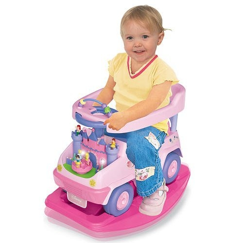 Kiddieland Disney Princess 4-in-1 Ride-on