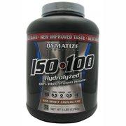 Dymatize Nutrition ISO 100 Whey Protein Powder, Gourmet Chocolate, 5 Pound