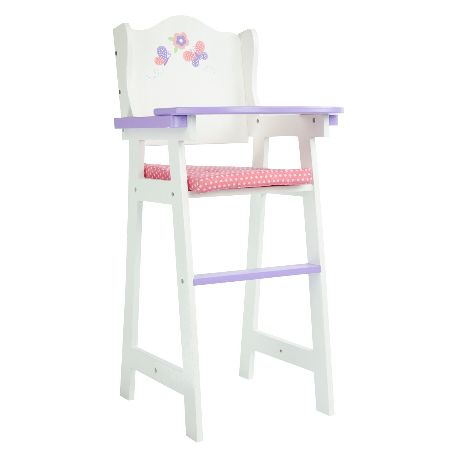 Oliviau0027s Little World   Little Princess Baby Doll High Chair   Walmart.com