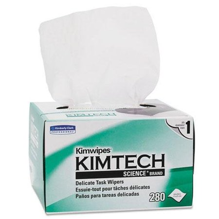 Kimberly Clark Consumer 34155 Kimtech Science Kimwipes  Delicate Task Wipers  4 2 5 X 8 2 5  280 Box