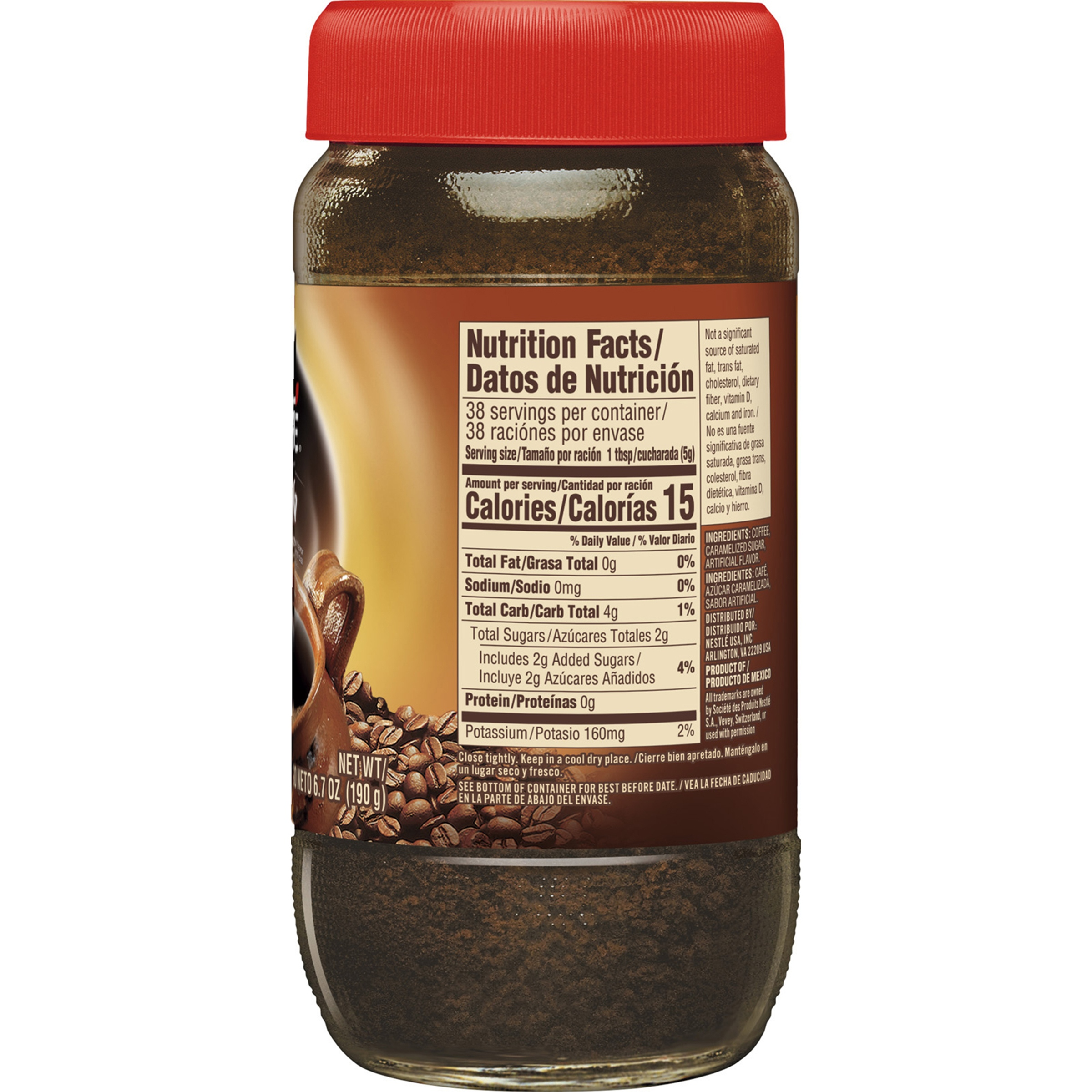 NESCAFE CAFE DE OLLA Cinnamon Instant Coffee Beverage 6.7 oz. Jar - Walmart.com