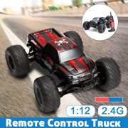 2.4Ghz 1:12 2WD 35 RC Cars Rock Off-Road + MPH High Speed Remote Controll Fast Race Hobby Car For Children Gift