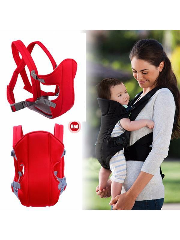 Baby Infant Newborn Kid Adjustable Carrier Backpack Front Back Rider Sling Comfort Wrap Bag by