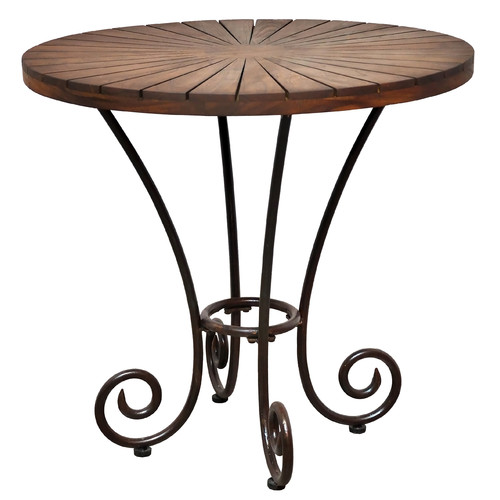 Casual Elements Toscana Solid Wood Bistro Table