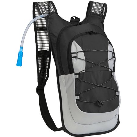 Survival Lightweight Camping Hydration Pack 2 Liter Water Bladder With Extra Large Storage Compartment