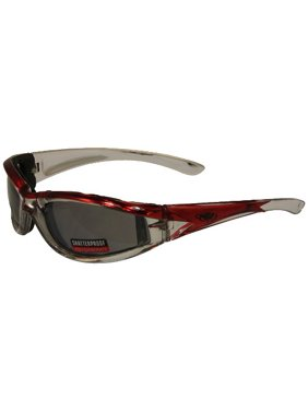 1ee2640d28bc Product Image Global Vision Flashpoint Glasses with Vacuum Chrome Finish  (Red Frame Flash Mirror Lens)