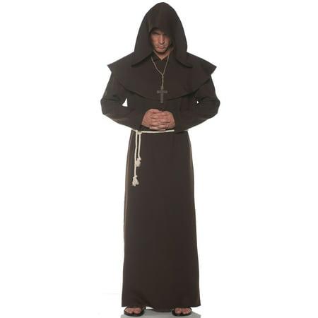 Brown Monk Robe Men's Adult Halloween - Foxy Brown Halloween Costumes