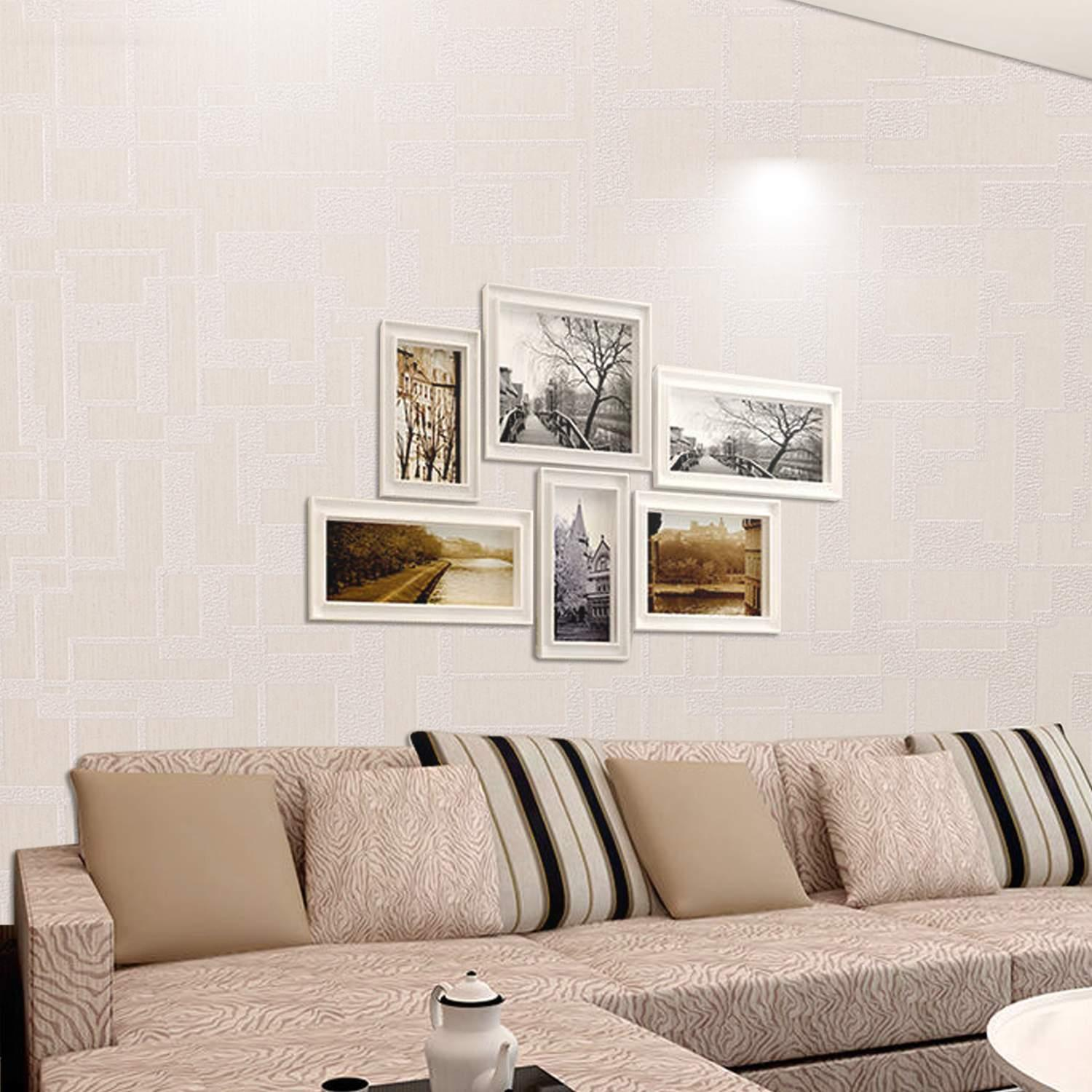 Black Frid ay Clearence&Sale!  Hifashion 3D Wall Panels White Brick Wallpaper / Wall Decal / Wall Accent / Walls