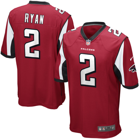 Matt Ryan Atlanta Falcons Nike Game Jersey - Red ()
