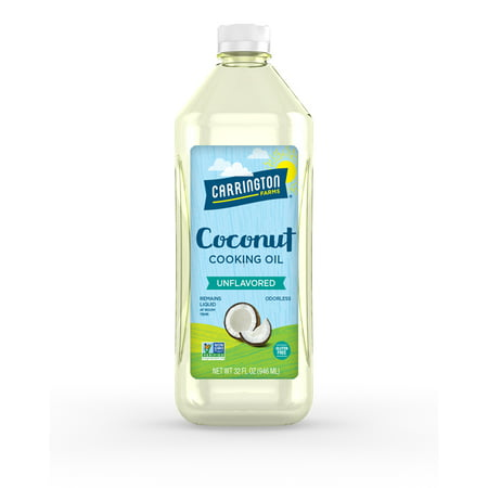 Carrington Farms Coconut Cooking Oil, 32 Fl Oz