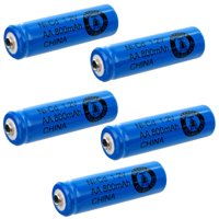 5pc AA 1.2V 800mAh NiCd Rechargeable Button Top Assembly Cell Batteries USA SHIP