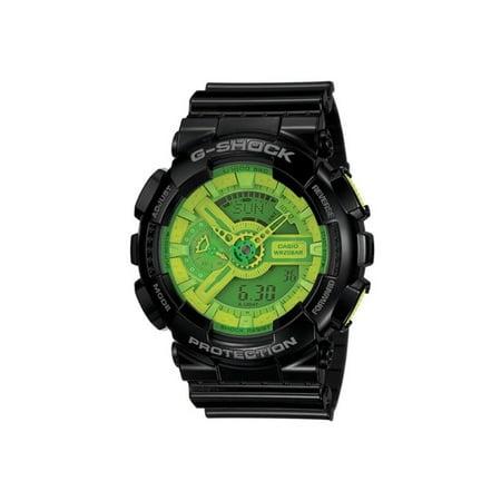purchase cheap c55b1 9b34b Rossignol - G-Shock GA110B-1A3 Black  Green Watch - Walmart.com