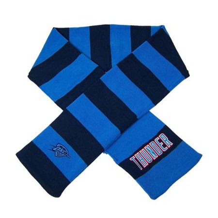 Oklahoma City Thunder Official NBA  Striped Rugby Scarf by Forever Collectibles