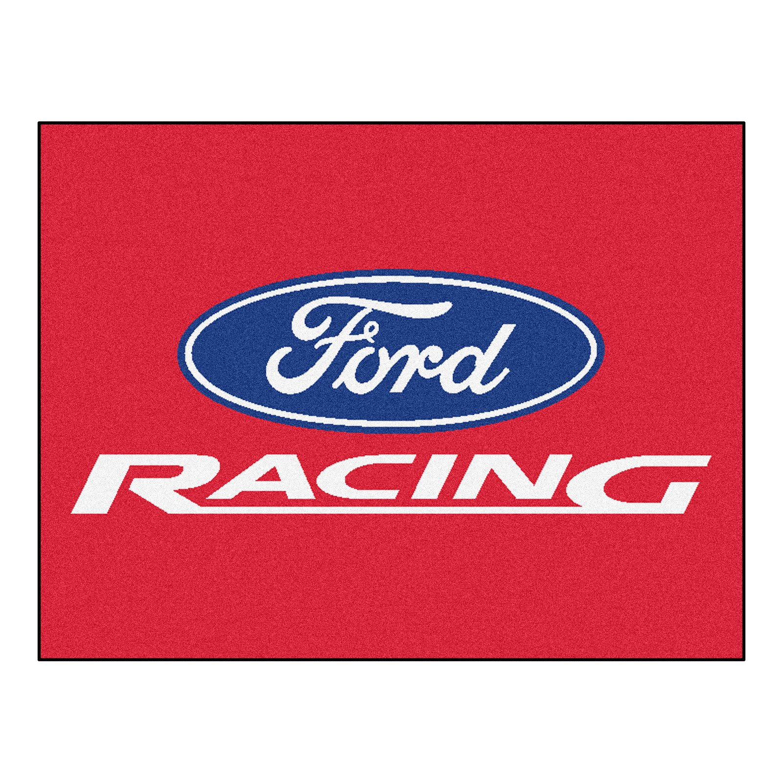 Fan Mats Ford Racing All Star Indoor Floor Mat