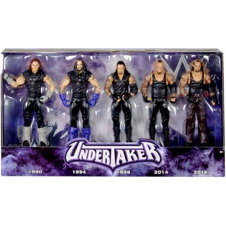 WWE Wrestling Network Spitlight Undertaker Action Figure 5-Pack](Undertaker Toys)